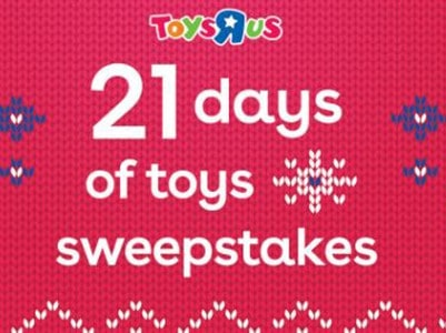 """Win a $400 Toys""""R""""Us Shopping Spree"""