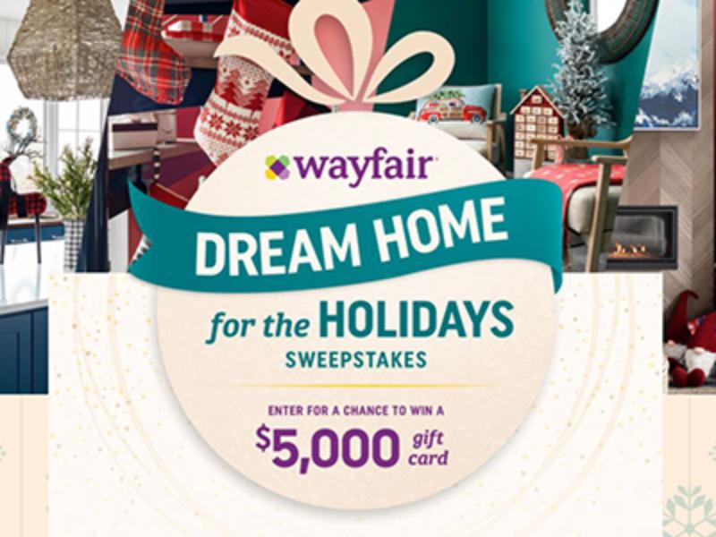 Win a $5K Wayfair Gift Card