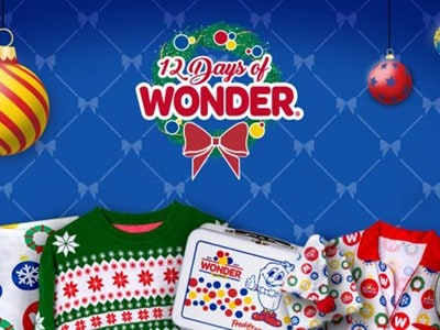 Win Holiday Swag from Wonder Bread