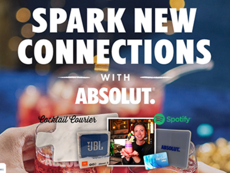Win Holiday Essentials from Absolut