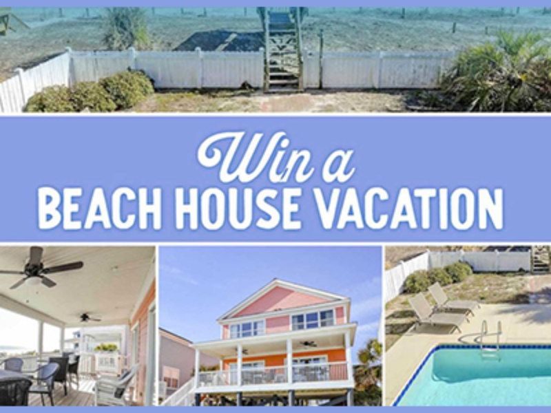 Win a Beach House Vacation in Myrtle Beach