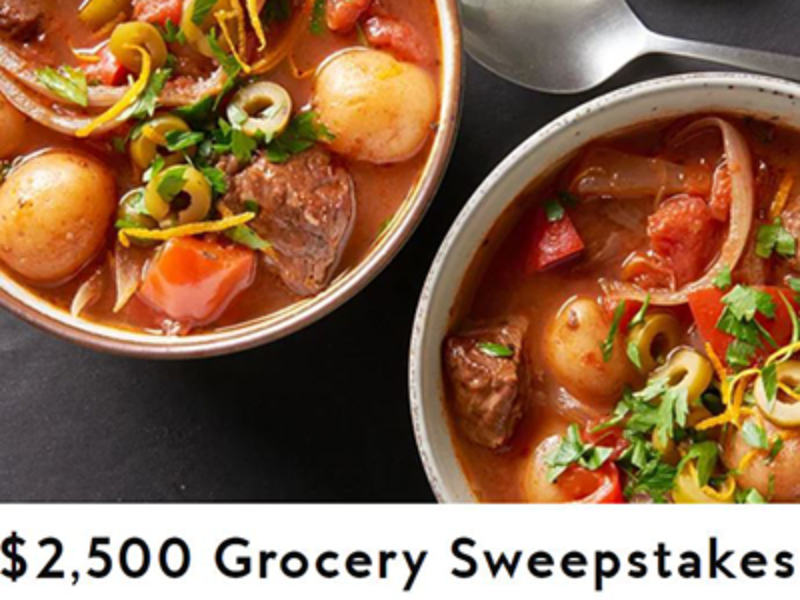 Win $2,500 from Better Homes & Gardens
