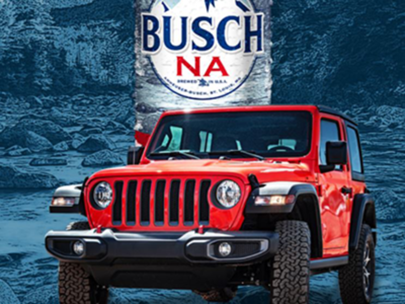 Win a 2020 Jeep from Busch