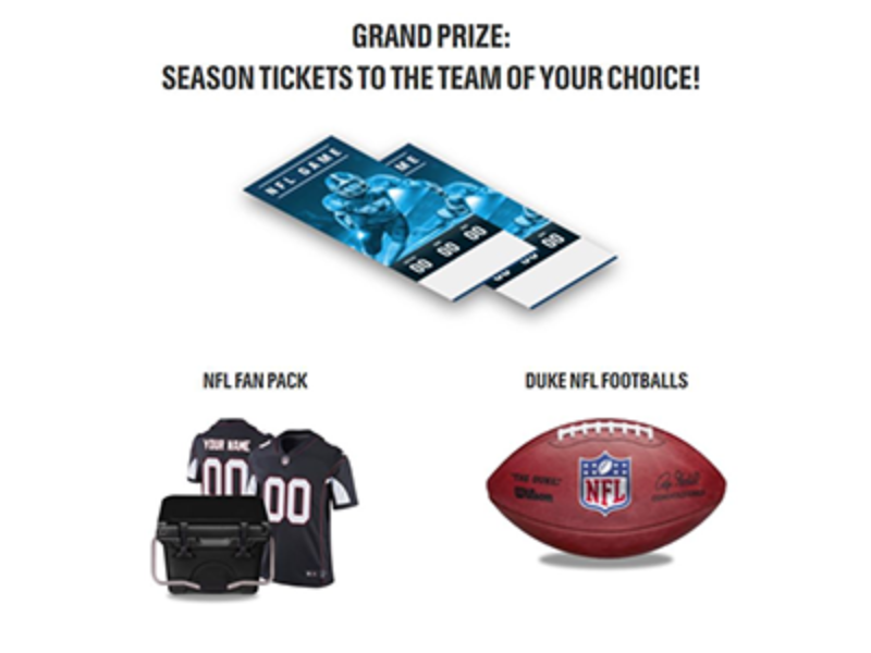 Win NFL Season Tickets for Your Team