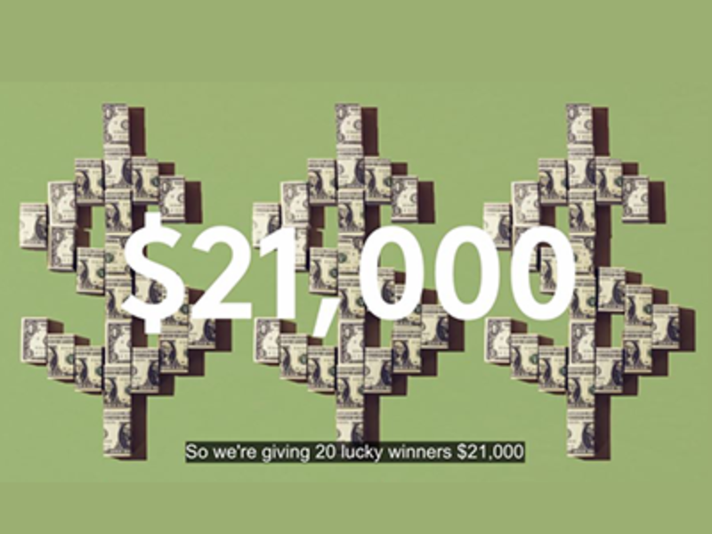 Win $21,000 from Cottonelle