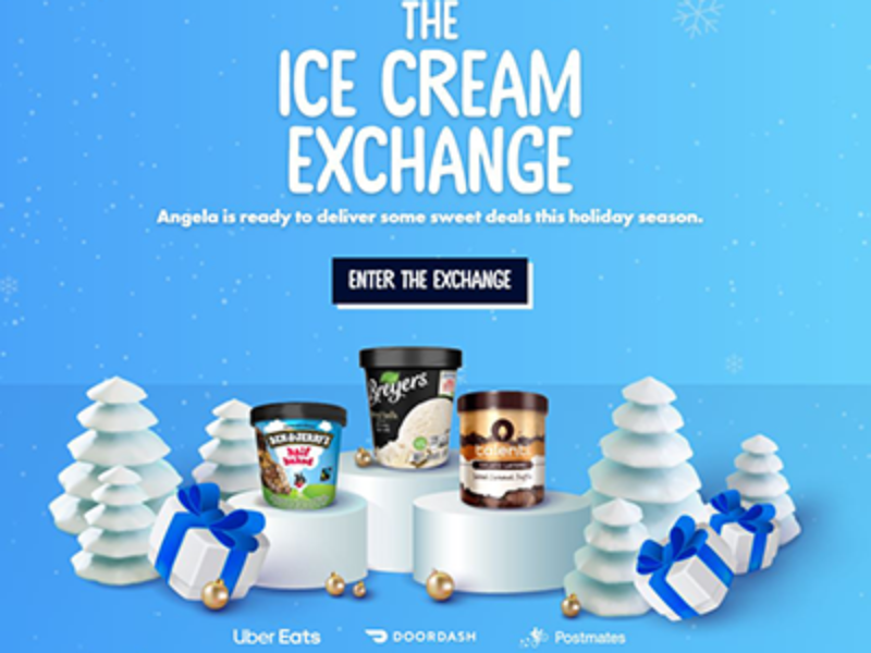 Win Free Ice Cream Delivered to Your Door