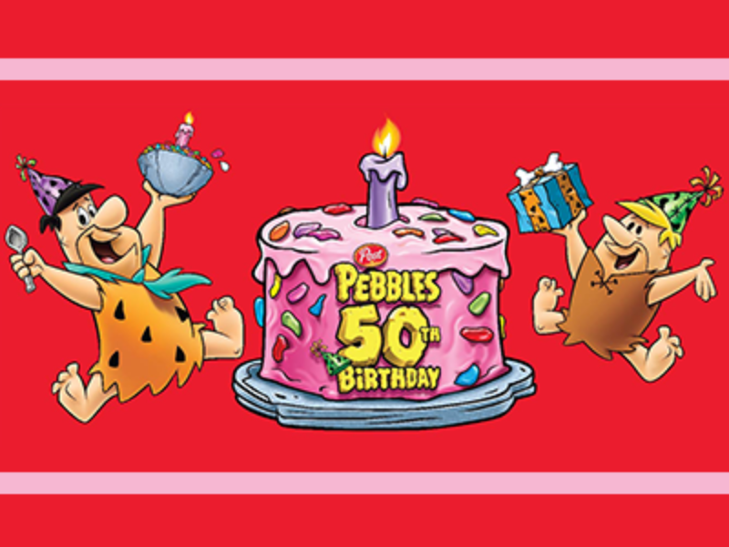 Win 1 of 50 $2,000 Cash Prizes from Pebbles