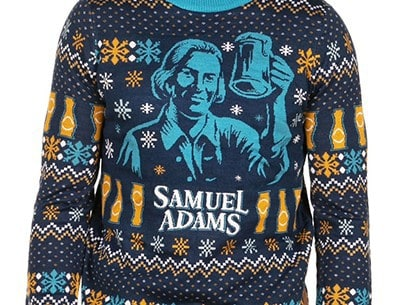 Win a Sam Adams Tipsy Elves Sweater