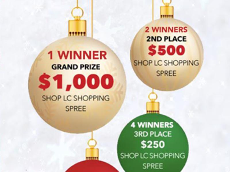 Win a $1,000 Shop LC Shopping Spree