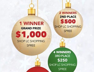 Win a $1,000 Shop LC Gift Card