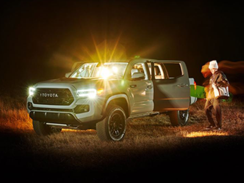 Win a 2021 Toyota Tacoma TRD PRO Double Cab 4x4 Truck
