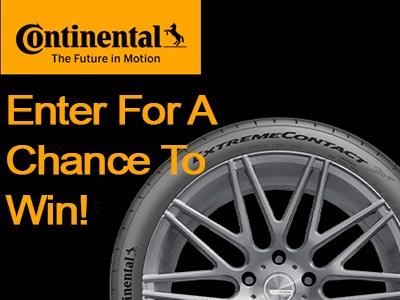 Win a Set of Wheels and Tires from Continental