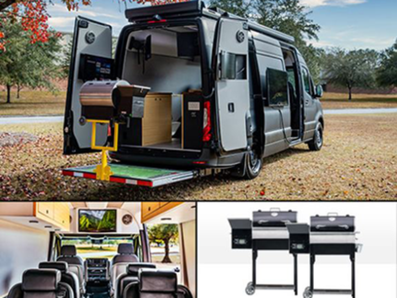 Win the Ultimate $100K+ Mercedes Tailgate Van from Fox Sports