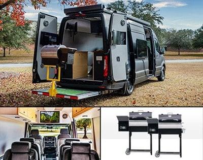 Win the Ultimate $100K+ Mercedes Tailgate Van