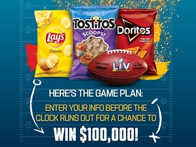 Win $100K from Frito-Lay