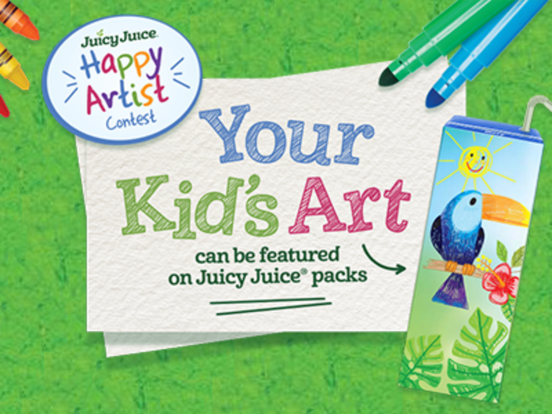 Win $500 in Art Supplies from Juicy Juice