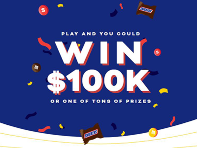 Win $100,000 from Mars Wrigley