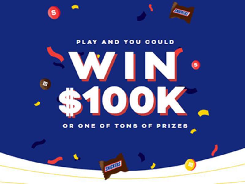 Win $100,000 from Mars Wrigley