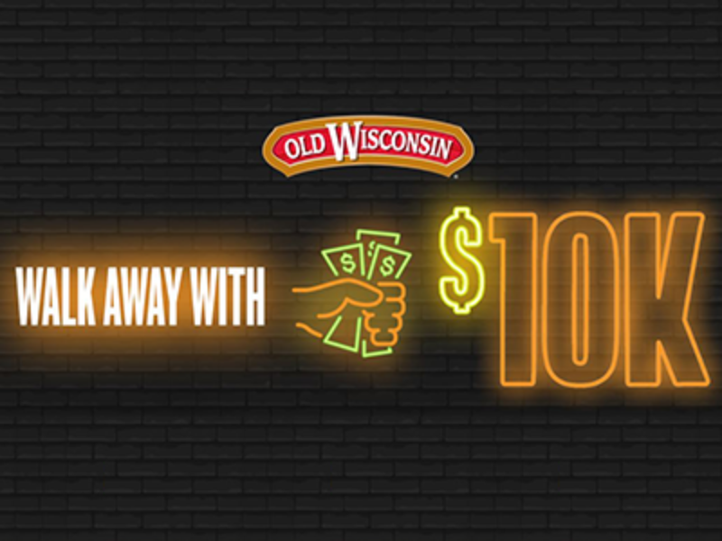 Win $10,000 from Old Wisconsin