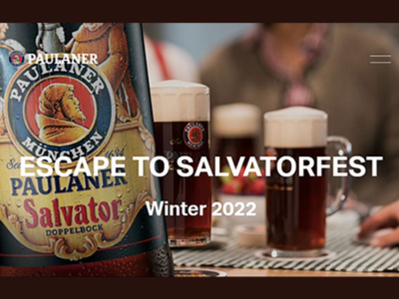 Win a Trip to 2022 Salvatorfest in Munich, Germany from Paulaner
