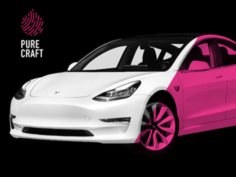 Win a Tesla Model 3 from Pure Craft