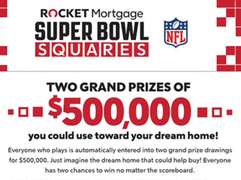 Win $500,000 from Rocket Mortgage