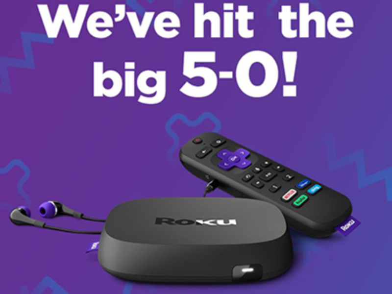 Win 1 of 50 Roku Ultra Devices
