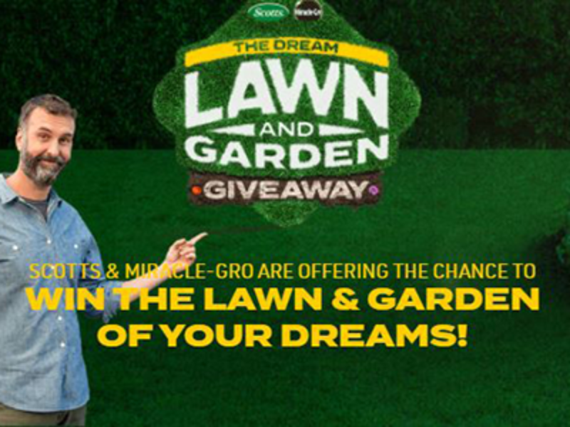 Win a $15K+ Dream Lawn & Garden from Miracle-Gro