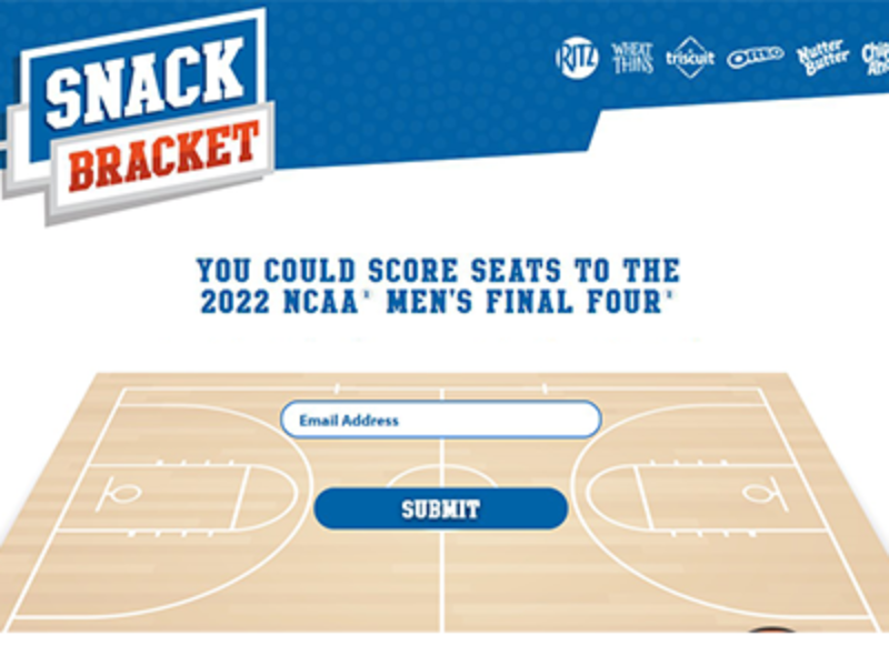 Win Tickets to the 2022 NCAA Final Four from Nabisco