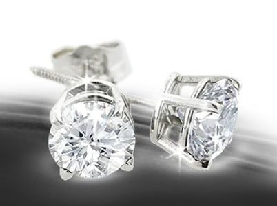 Win Diamond Stud Earrings from SuperJeweler