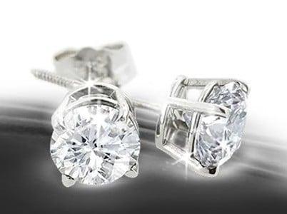 Win Diamond Stud Earrings from SuperJeweler