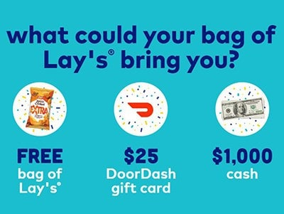 Win $1,000 Cash from LAY'S