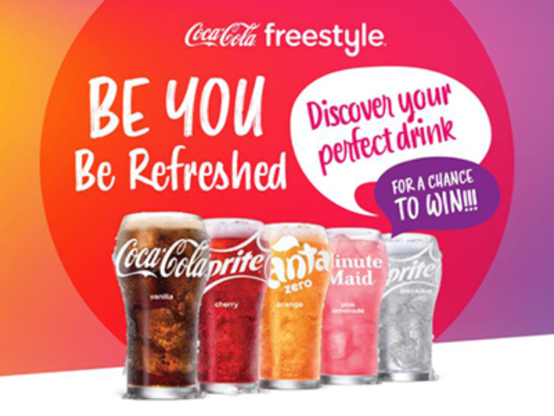Win an HDTV Instantly from Coca-Cola