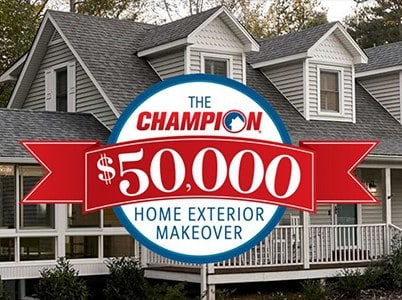 Win $50K in Champion Windows, Siding & Doors