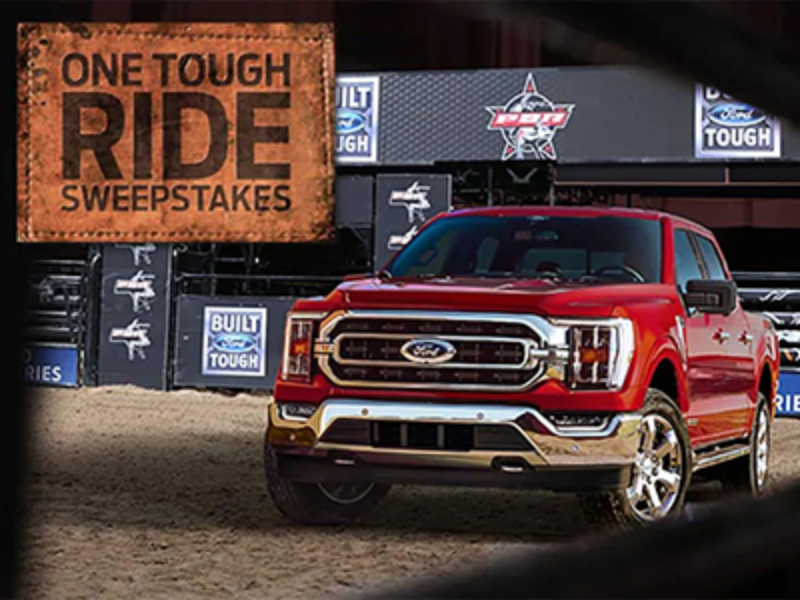 Win a 2021 Ford F-150 + VIP Trip to Vegas