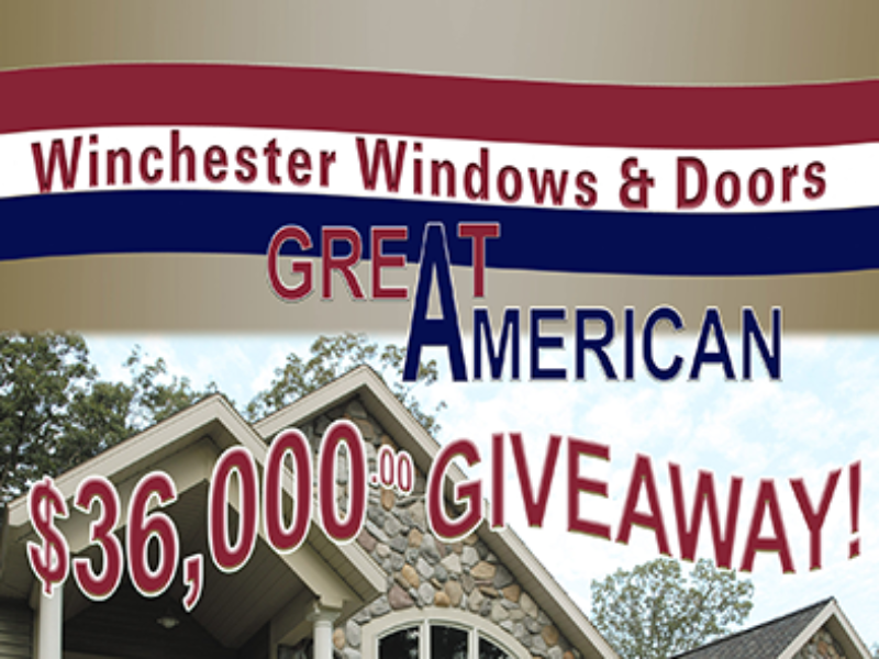 Win $36K in Windows & Doors from Winchester Industries