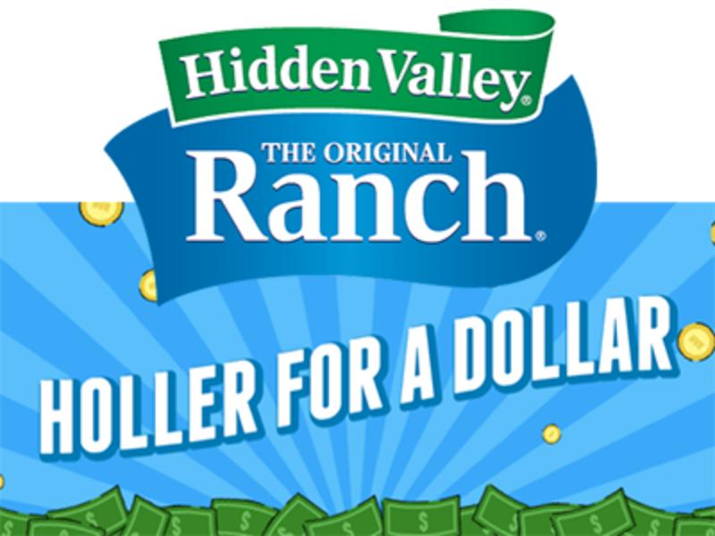 Win $1,000 from Hidden Valley Ranch