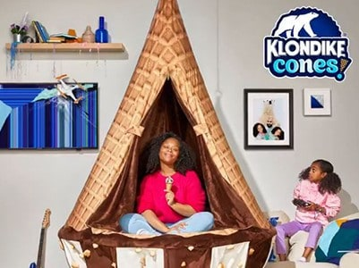 Win 1 of 50 Klondike Cone Zone Chairs