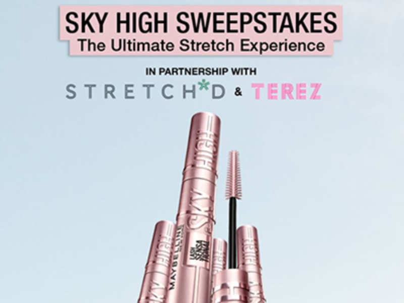 Win a 1-Year Supply of Maybelline Sky High Mascara