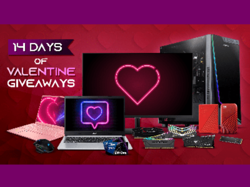 Win an MSI Prestige Laptop or ABS Master Gaming PC from Newegg