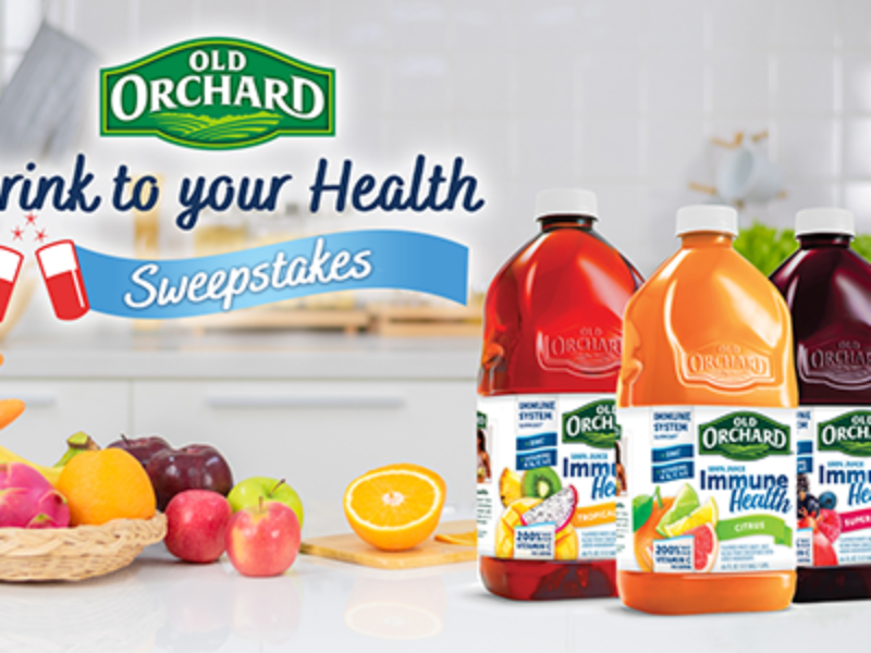 Win Old Orchard Juice for a Year