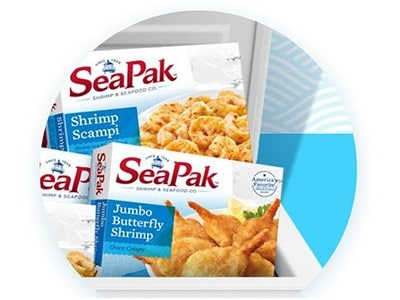Win a GE Chest Freezer + Seafood