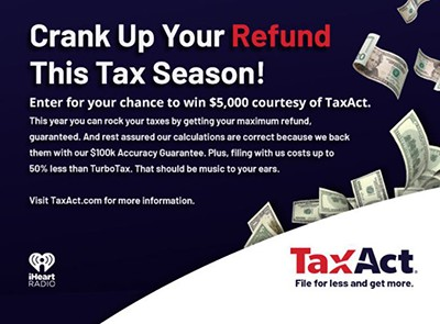 Win $5,000 from TaxAct