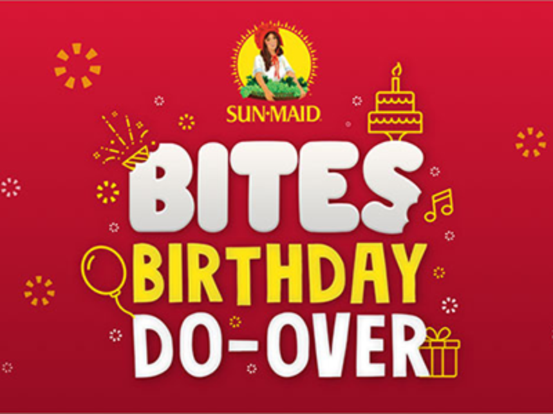 Win 1 of 52 Birthday Prize Packs from Sun-Maid