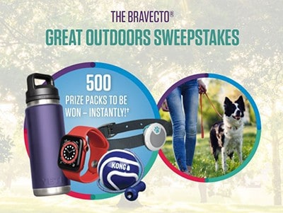 Win 1 of 500 Apple Watches from Bravecto