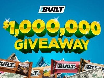 Win $1,000,000 from Built Bar