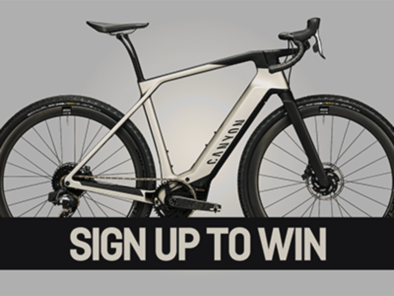 Win a Canyon Electric Bicycle