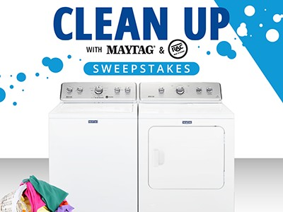 Win a Maytag Washer & Dryer