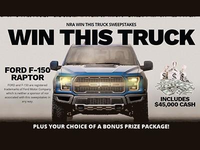Win a Ford F-150 Raptor