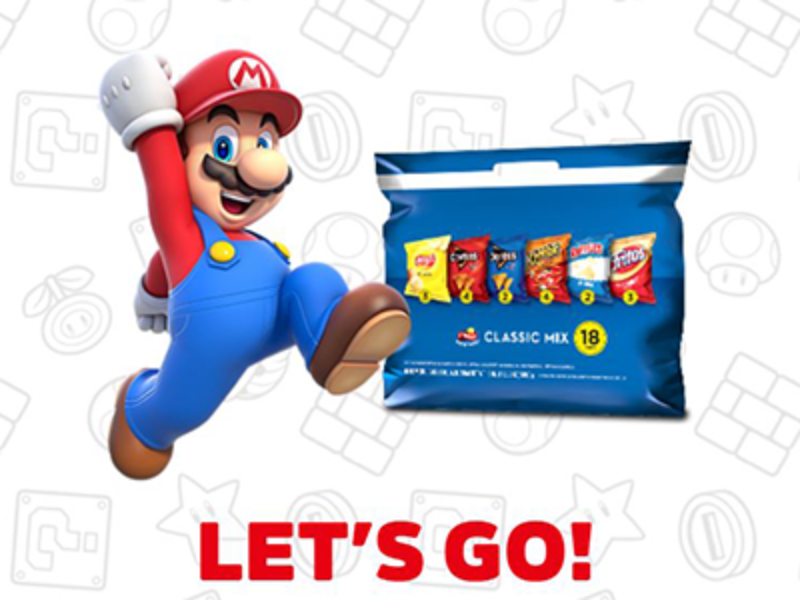 Win 1 of 200 Nintendo Switch Consoles from Frito-Lay